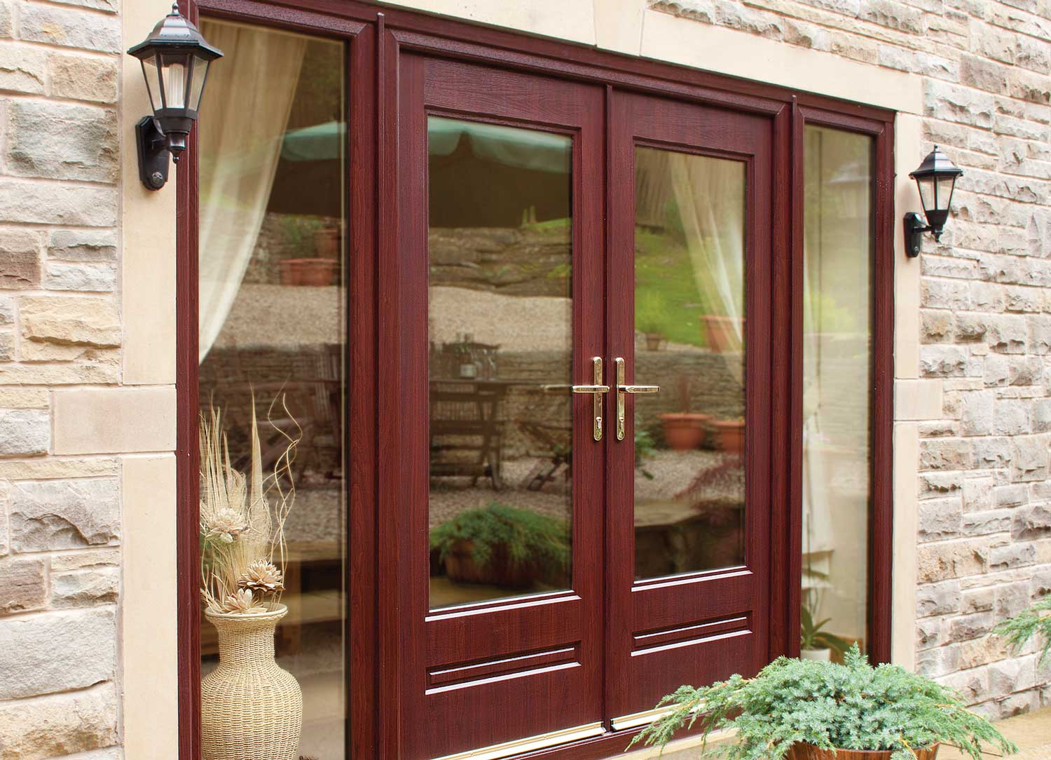 Composite french doors leeds horsforth composite french for Cheap french patio doors